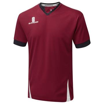 Picture of Blade Training Shirt : Maroon / Navy / White