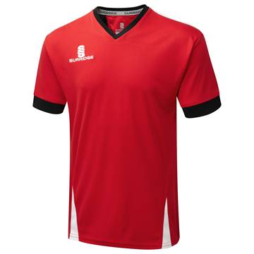 Picture of Blade Training Shirt : Red / Black / White