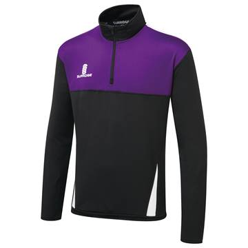 Picture of Blade Performance Top : Black / Purple / White
