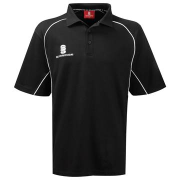 Picture of Alpha Polo Shirt Black/White