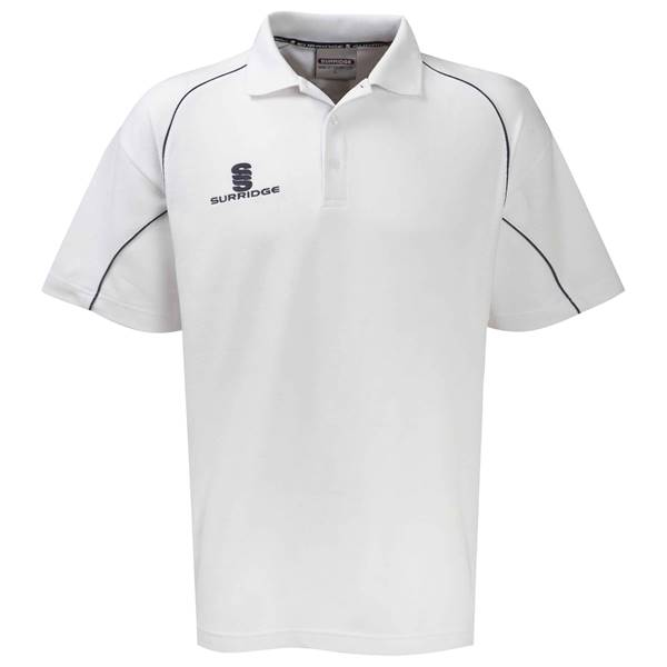 Picture of Alpha Polo Shirt White/Navy