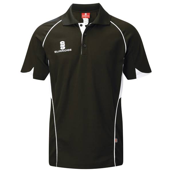 Picture of Curve Polo Shirt - Black/White