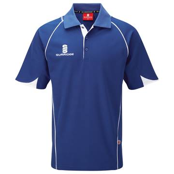 Picture of Curve Polo Shirt - Royal/White