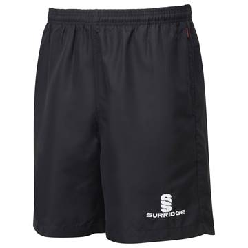 Picture of Pocketed Training Shorts - Black Mens and Ladies fit