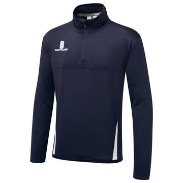 Picture of Fuse Performance Top : Navy / White