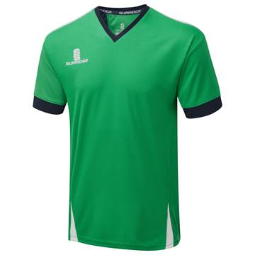 Picture of Blade Training Shirt : Emerald / Navy / White