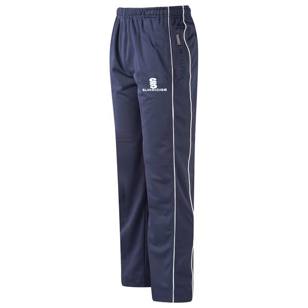 Picture of Coloured Cricket Trousers - Navy/White