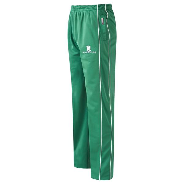 Picture of Coloured Cricket Trousers - Green/White