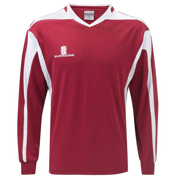 Picture of Prestige  Shirt - Maroon/White