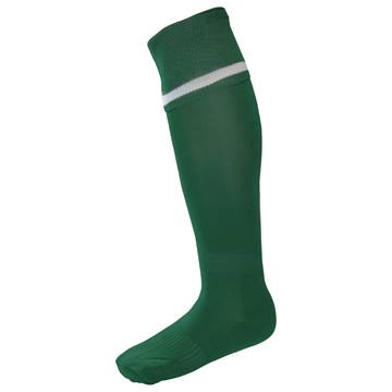 Picture of Single Band Sock - Green/White