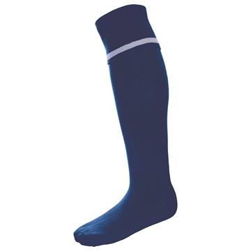 Picture of Single Band Sock - Navy/White