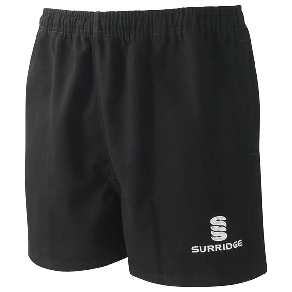 Picture of Twickenham Rugby Shorts Black