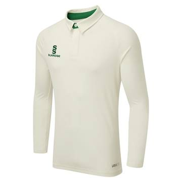 Picture of ERGO LONG SLEEVE CRICKET SHIRT - GREEN