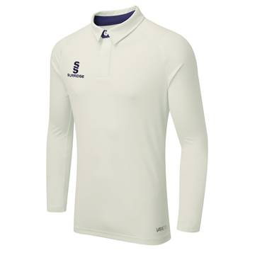 Picture of ERGO LONG SLEEVE CRICKET SHIRT NAVY