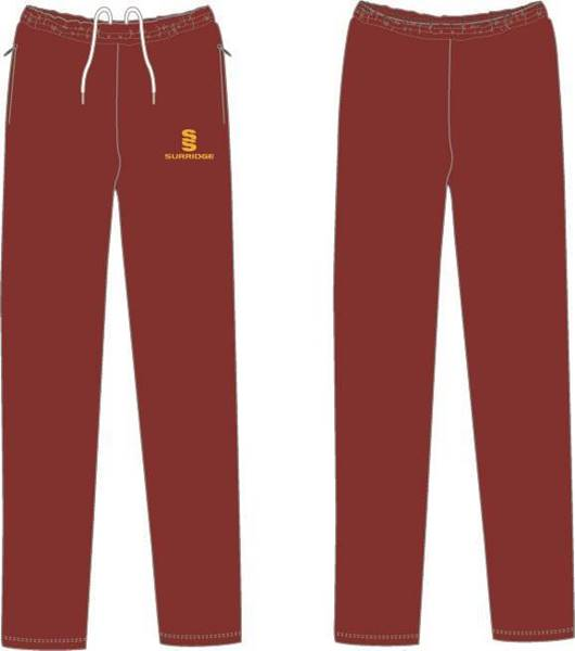 Picture of MAROON/AMBER TRACK PANTS