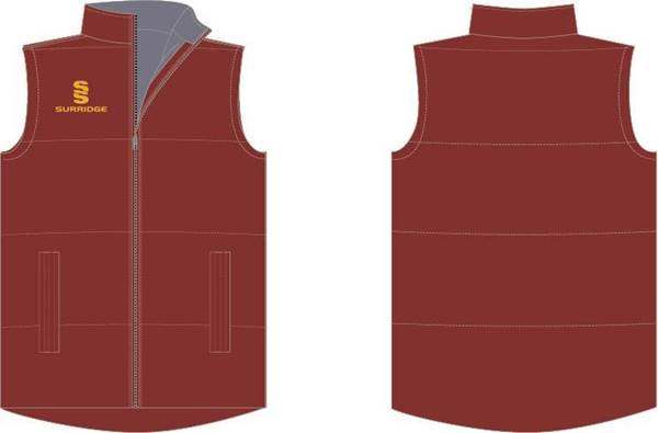 Picture of MAROON GILET