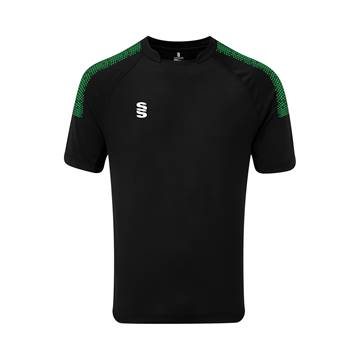 Picture of Dual Games Shirt - Black/Emerald