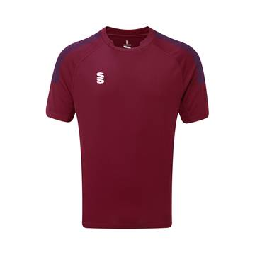 Picture of Dual Games Shirt - Maroon/Navy