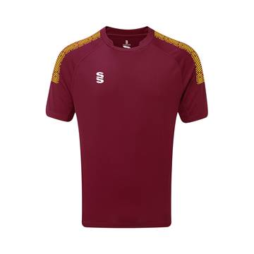 Picture of Dual Games Shirt - Maroon/Yellow