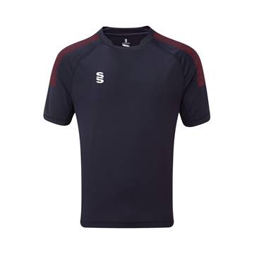 Picture of Dual Games Shirt - Navy/Maroon