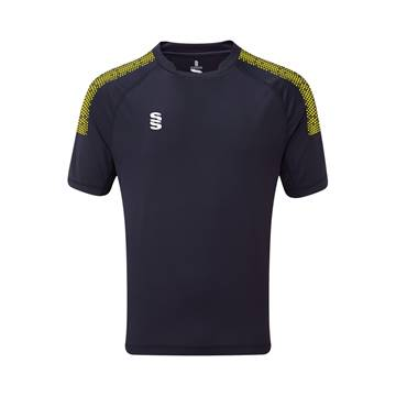 Picture of Dual Games Shirt - Navy/Yellow