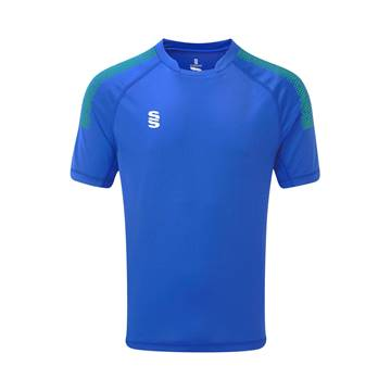Picture of Dual Games Shirt - Royal/Emerald