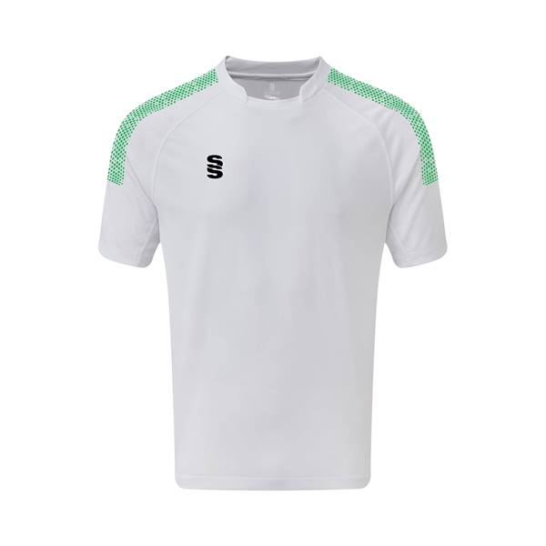 Picture of Dual Games Shirt - White/Emerald