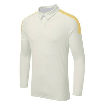 Picture of DUAL CRICKET LONG SLEEVE SHIRT: AMBER