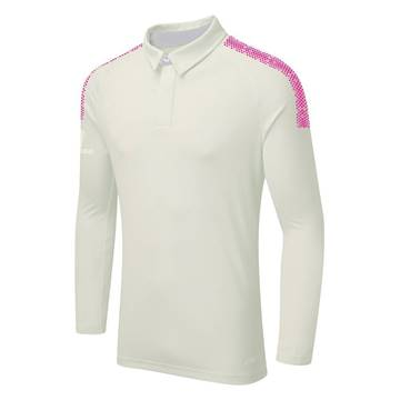 Picture of DUAL CRICKET LONG SLEEVE SHIRT: PINK