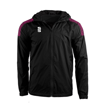 Picture of DUAL FULL ZIP TRAINING JACKET - BLACK/PINK