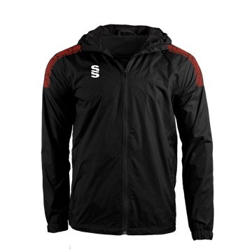 Picture of DUAL FULL ZIP TRAINING JACKET - BLACK/RED