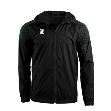 Picture of DUAL FULL ZIP TRAINING JACKET - BLACK/FOREST