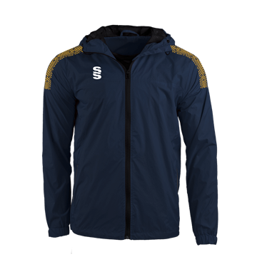 Picture of DUAL FULL ZIP TRAINING JACKET - NAVY/AMBER