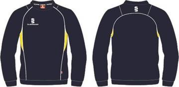 Picture of Surridge Sweatshirt Navy/Yellow