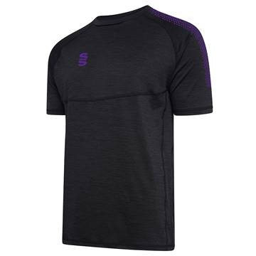 Picture of DUAL T-SHIRT BLACK / PURPLE