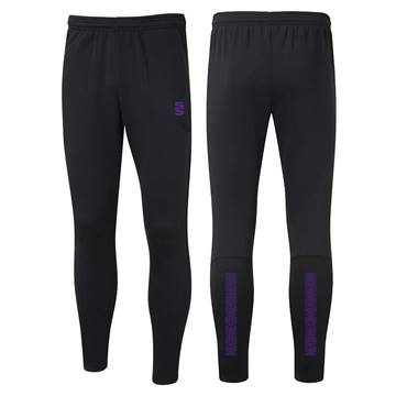 Picture of Performance Skinny Pant - Black/Purple