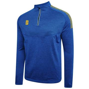 Picture of DUAL 1/4 ZIP MIDLAYER ROYAL/AMBER