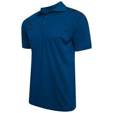 Picture of Camo Dual Solid Colour Polo - Royal